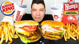 Burger King Triple VS Wendy