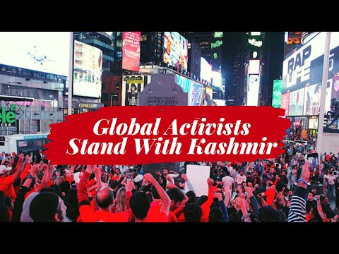 From Palestine to the United States, Global Activists Stand With Kashmir!