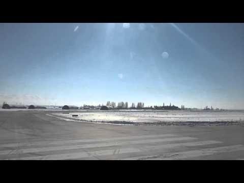 Erzurum-İzmir Uçağı Erzurum Havalimanı Kalkış HD MUHTEŞEM MANZARA