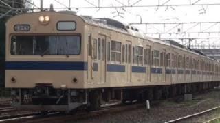 日本最後の戸袋窓付103系 広島運転所B-09編成 【JR 103 series】
