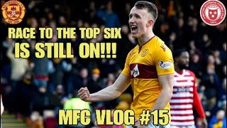 RACE TO THE TOP SIX IS STILL ON!!! - MFC VLOG #15 - Motherwell vs Hamilton
