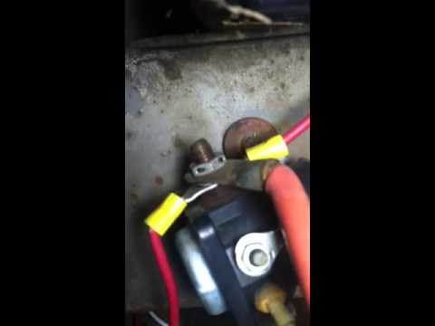 Tractor 6 volt to 12 How to on