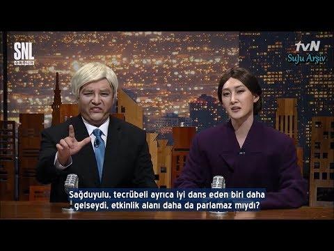 171111 Super Junior SNL Korea S9 - Donald Trump & Melanie Kesiti (Türkçe Altyazılı)