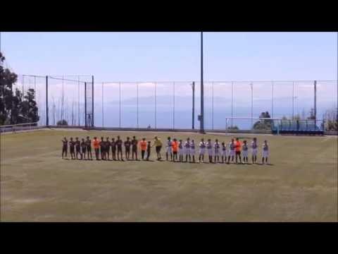 CS Marítimo - 2 x CD Nacional - 4 -- Taça da Madeira - Infantis Fut 7 (2015/2016) FINAL
