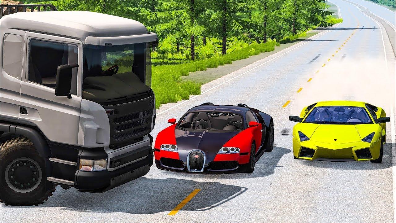Download STREET RACING CRASHES #1 - BeamNG Drive Crashes