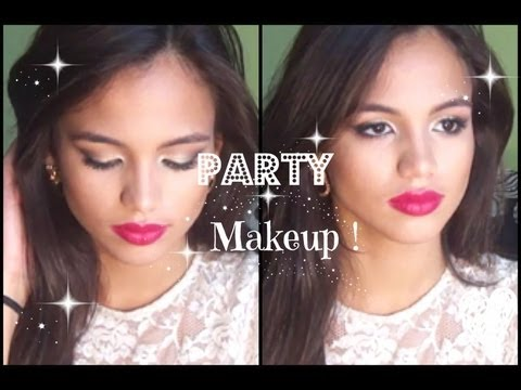 Sweet 16 Teen Appropriate Party Make Up Youtube