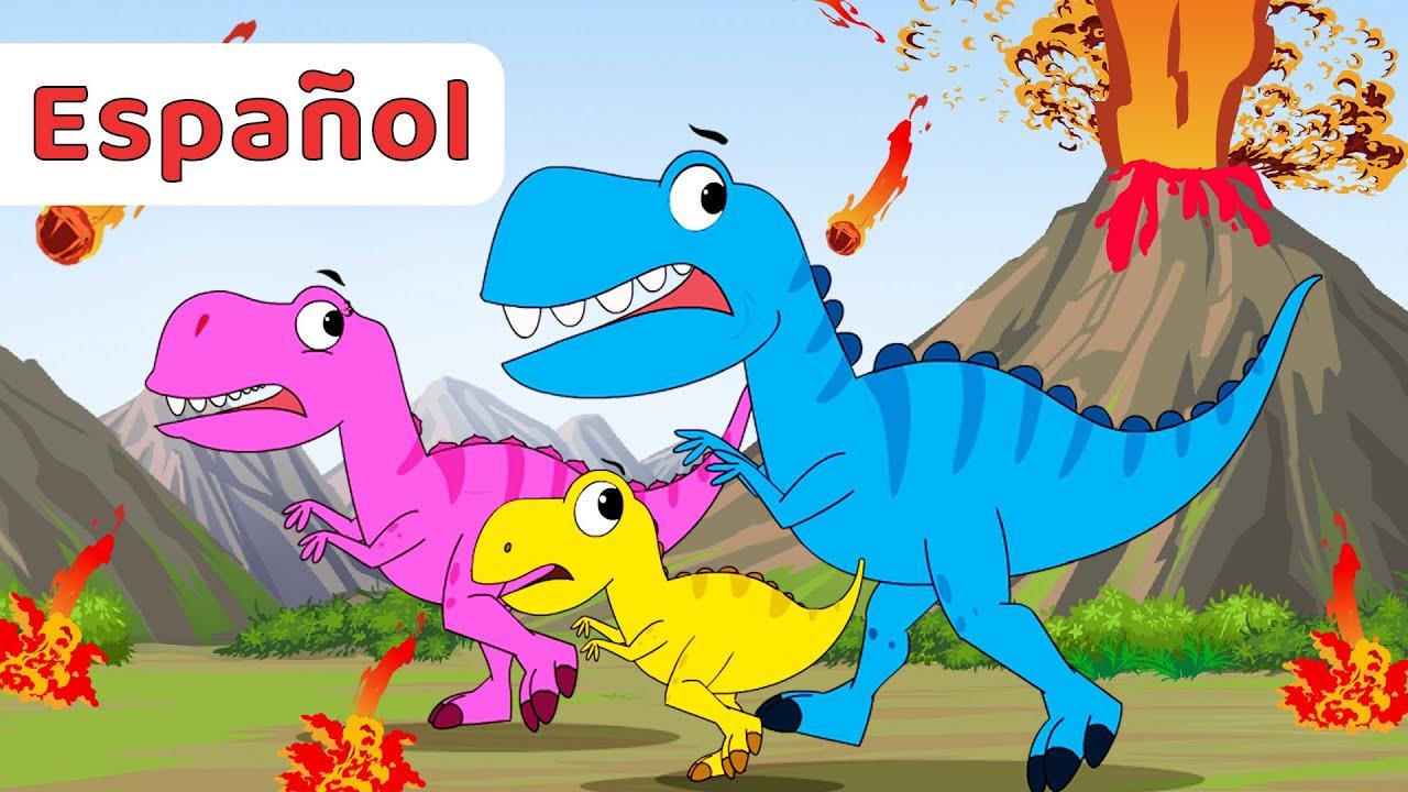 Las Mejores Canciones De Dinosaurios Para Niños Recopilación Infantiles Youtube
