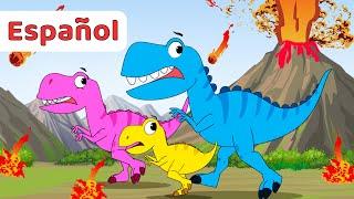 Las Mejores Canciones de Dinosaurios Para Niños +Recopilación Infantiles