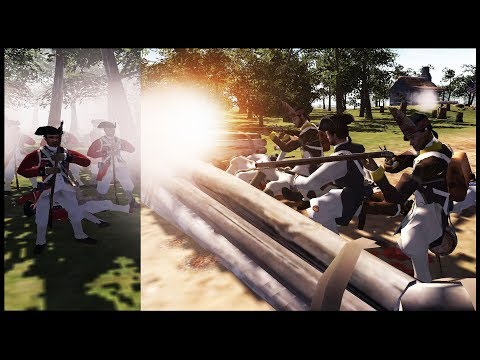 COLONIAL VILLAGE DEFENSE ~ Revolutionary War - Men of War: BITFA Mod