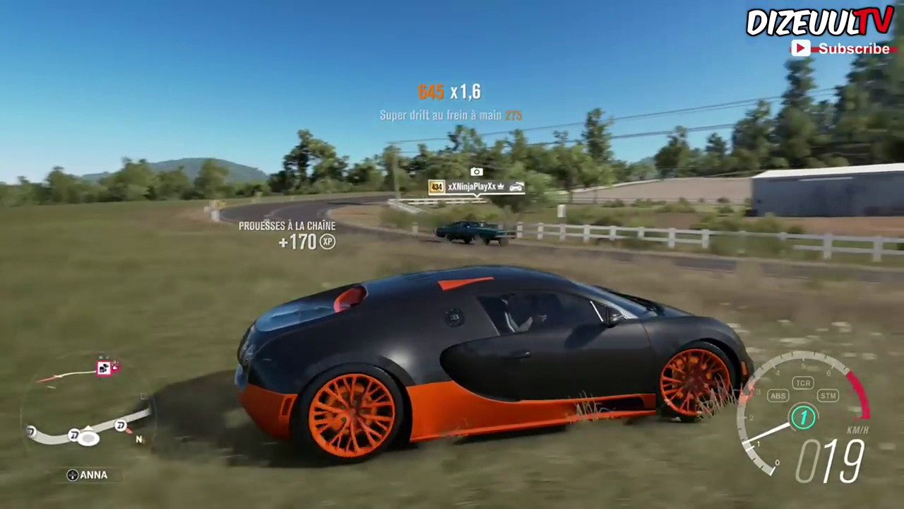 Forza Horizon 3 Bugatti Veyron Gameplay HD 1080p