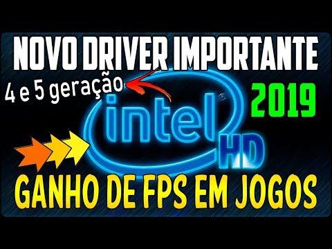 Saiu Novo Driver Para Intel HD Graphics 4400, Intel HD 5500 - 09/04/2019