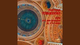 """Cover images Liturgy of St. John Chrysostom in C Major, Op. 41: """"After the Gospel Reading"""""""