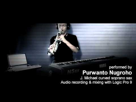 """""""Peri Cintaku"""" (song by Marcell) - Instrumental Saxophone by Purwanto Nugroho"""