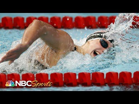 Katie Ledecky dominates women's 400m freestyle at TYR Pro Swim Series  NBC Sports