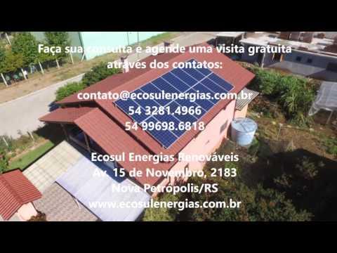 ECOSUL - KIT FOTOVOLTAICO 5,04 kWp