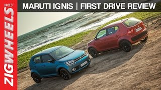 Maruti Suzuki Ignis | Petrol & Diesel | Manual & AMT| First Drive Review | ZigWheels