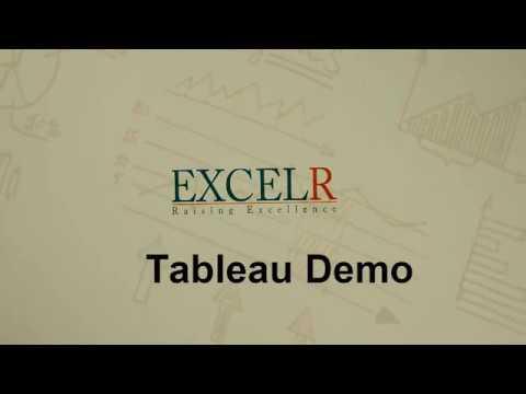 Tableau Demo by industry expert Ms.Bhargavi