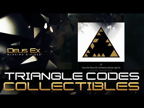 Deus Ex Mankind Divided - All 35 Triangle Code Locations Guide