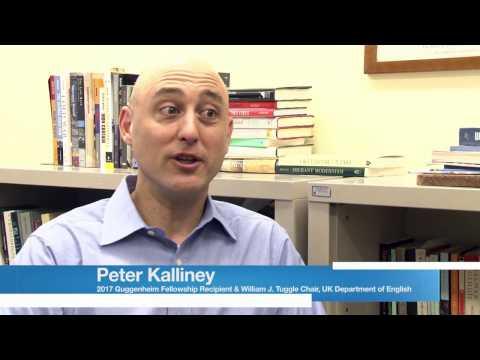 Peter Kalliney Receives Guggenheim Fellowship