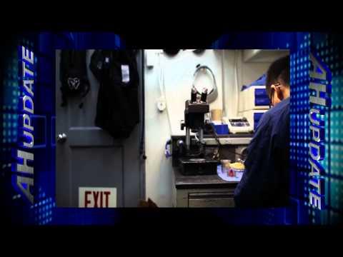 Navy Dental Lab Technician Makes Prosthetics for Sailors