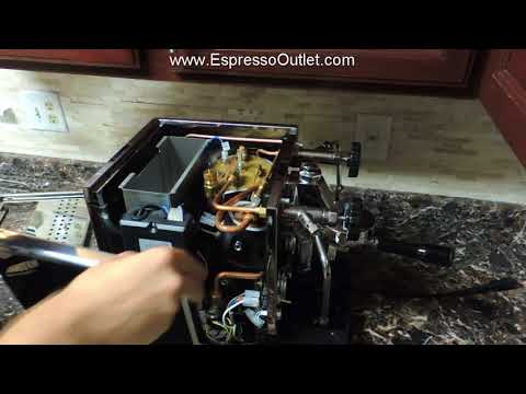 Removing Panels On A Rocket R58 Espresso Machine V3 - Repair And Maintenance