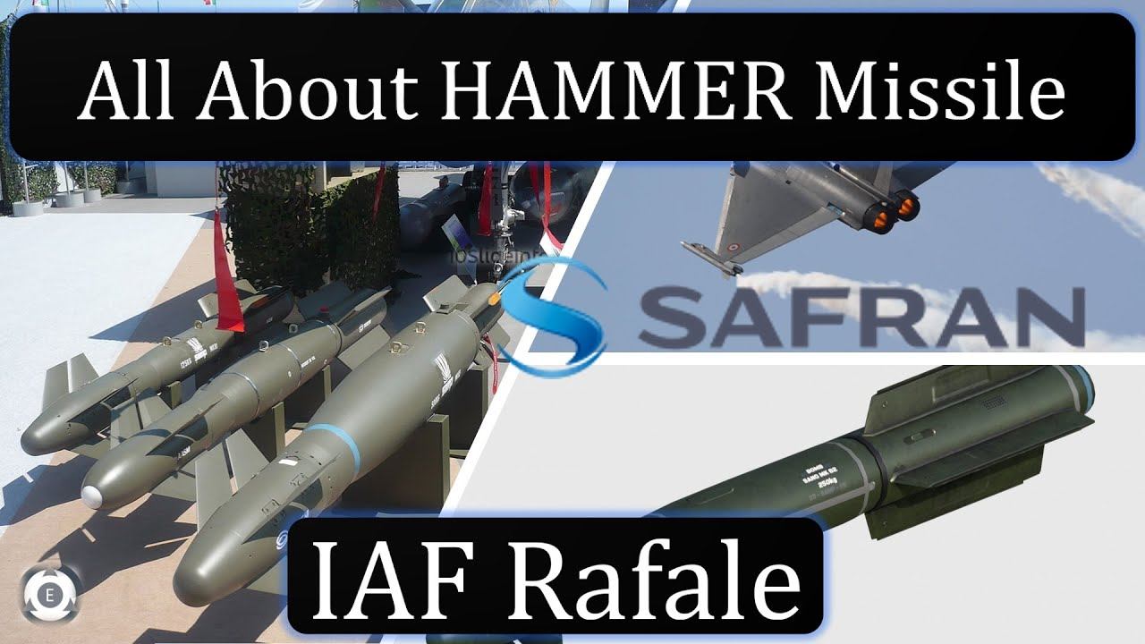 All About HAMMER Missile  IAF Rafale  Armement Air-Sol Modulaire