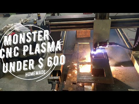 Home made CNC build ONLY $ 600 part 4 | DIY CNC Plasma Cutting with free plan