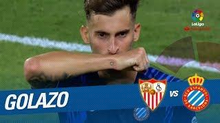 Golazo de Leo Baptistao (1-1) Sevilla FC vs RCD Espanyol
