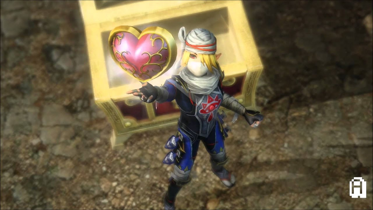 Hyrule Warriors 100 Walkthrough Heart Container 4 Sheik All Heart Containers Adventure Mode G12 Youtube