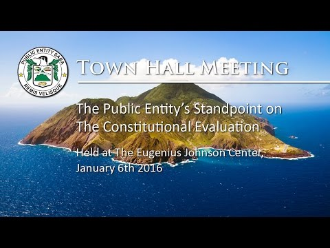 Evaluation  Report - The Public Entity Saba Standpoint