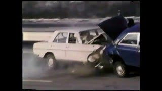 Unusual Crash Test Footage