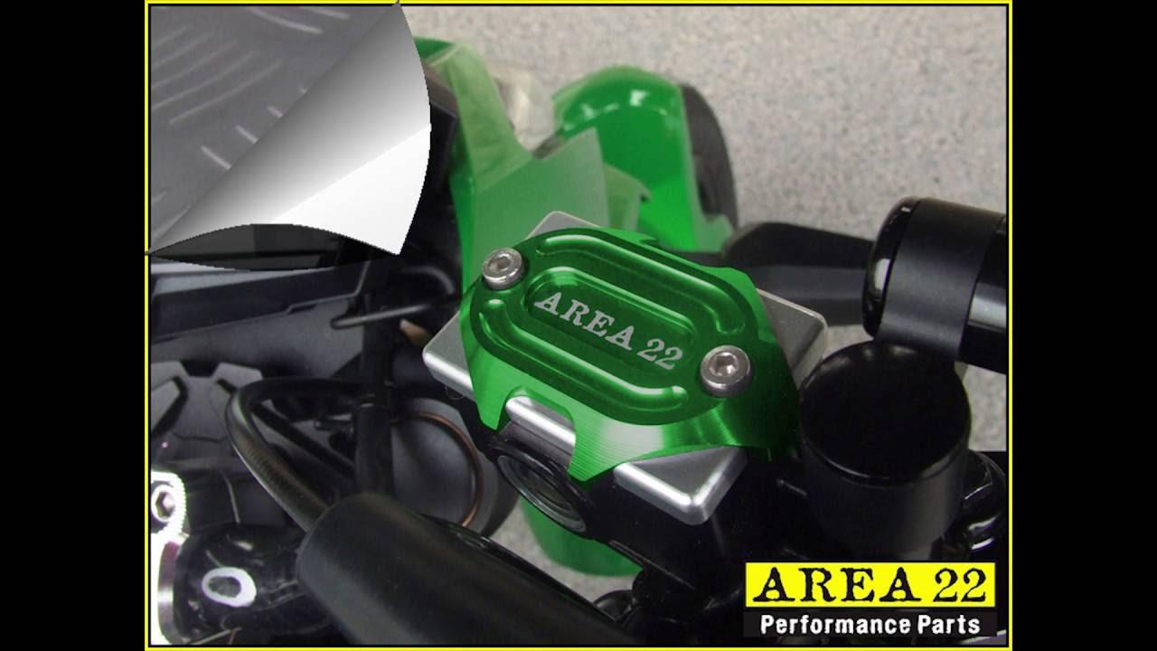 area 22 performance kawasaki z125 pro aftermarket parts - youtube