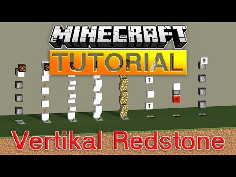 8 kompakte Vertikal Redstone Designs - Minecraft Tutorial