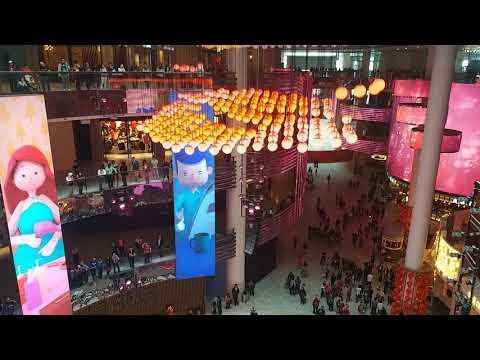 Amazing Lighting Show in Malaysia