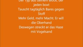 Fard - dann bist du Häuptling Lyrics [NeroropulosLyrics]