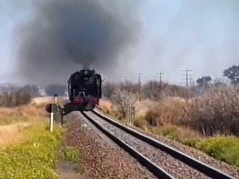 858 Test Run Kimberley to Bloemfontein.mpg