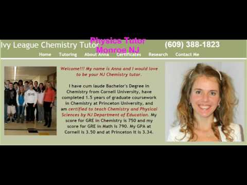 AP Chemistry, Honors Chemistry and Physics Tutor in East Brunswick NJ