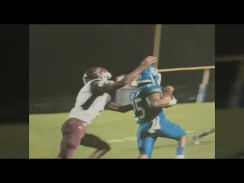 Vancleave high School Hunter Williams offensive career highlights