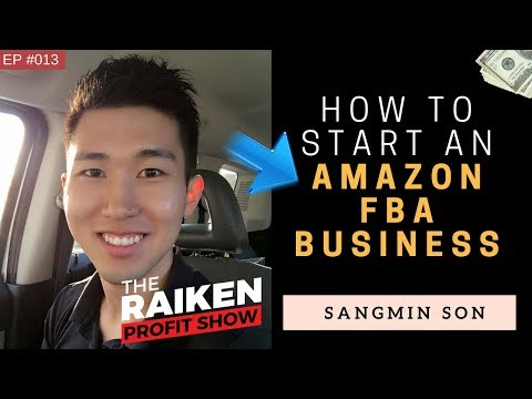 How To Start An Amazon FBA Business With Sangmin Son