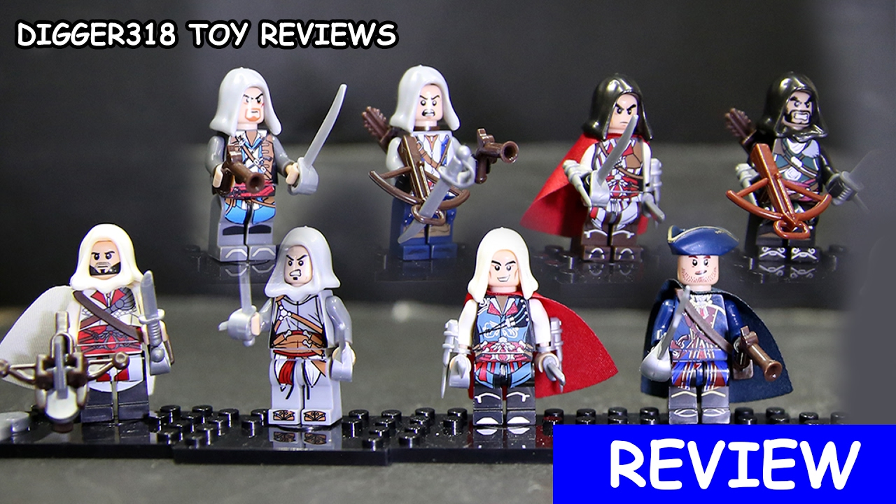 Lego Assassin S Creed Iv Black Flag Xsz Bootleg 316 Review Youtube