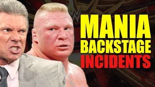 Two MAJOR Incidents Happened Backstage At Wrestlemania 35 (WWE Wrestlers Unhappy) thumbnail