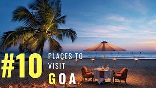 Top 10 Tourist Places in Goa   Places to Visit in Goa   Goa Beach   Goa Fort   Goa   Tourism   #004