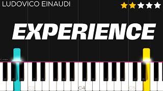 Ludovico Einaudi - Experience | EASY Piano Tutorial