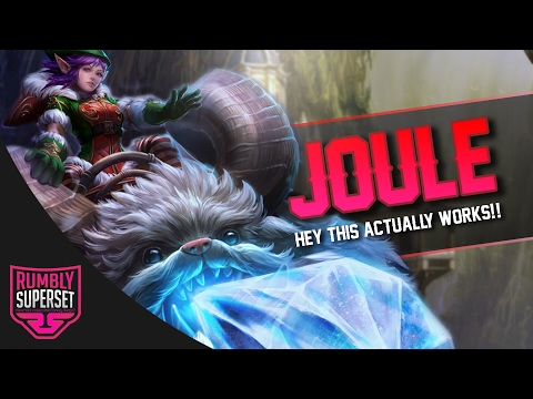 Vainglory - Road to Vainglorious [Gold]: IT ACTUALLY WORKS!! Joule |WP| Lane Gameplay [2.3]