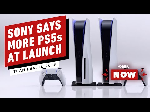 Sony Says It Will Have More PS5s At Launch Than the PS4 in 2013 - IGN Now
