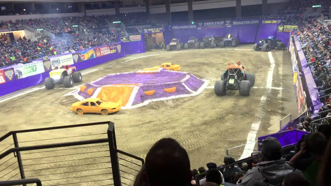 Monster trucks sioux city