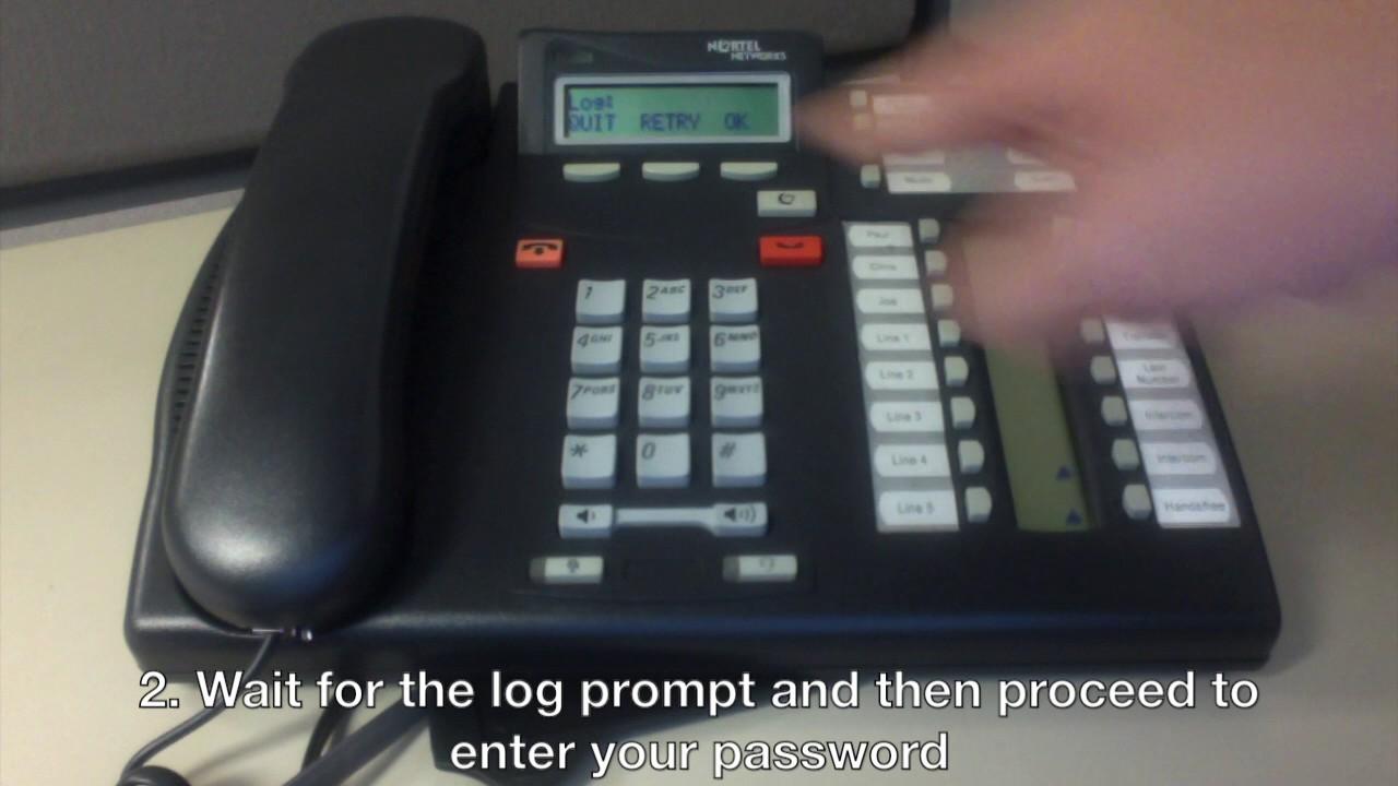 Nortel Phones - Check Voicemail