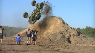 First mud truck back flip ever! Cory Rummell in Going Deep