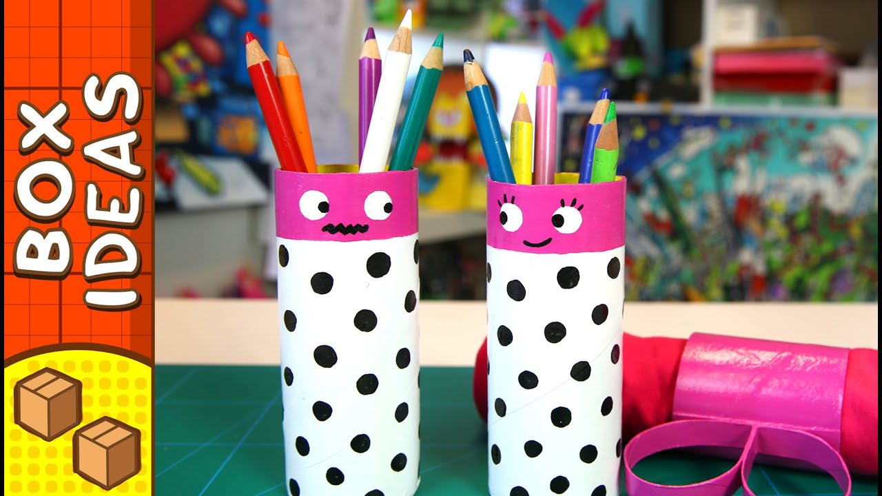 DIY Gift Box Pencil Couple