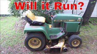 Free Broken John Deere 318 Garden Tractor